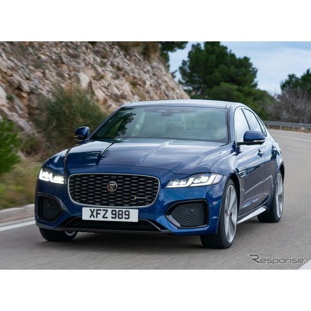 ジャガーカーズは10月6日、ジャガー『XF』(Jaguar XF)の改良新型を欧州で発表した。ジャガーのミドルクラ...