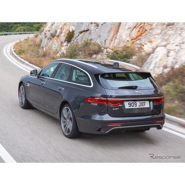ジャガーカーズは10月6日、ジャガー『XFスポーツブレーク』(Jaguar XF Sportbrake)の改良新型を欧州で発...
