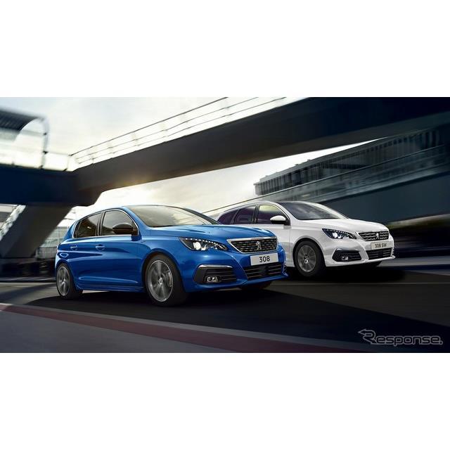 グループPSAジャパンは、プジョー『308』および『308SW』改良新型を10月14日より発売。あわせて特別仕様車...