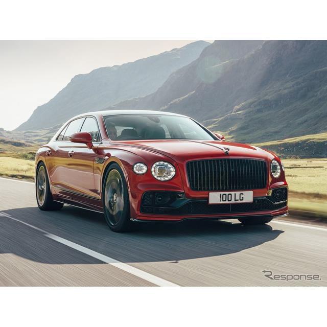 ベントレーは10月14日、新型『フライングスパーV8』(Bentley Flying Spur V8)を欧州で発表した。W12エン...