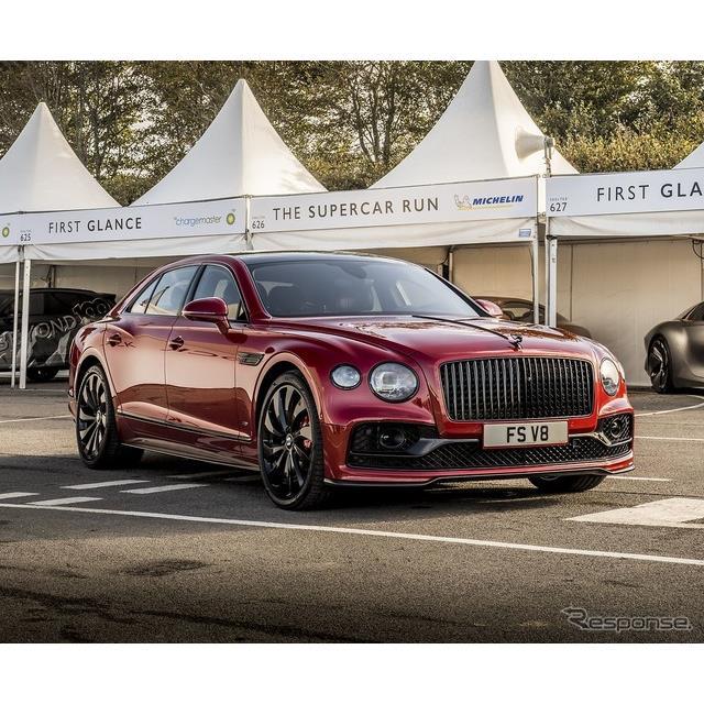 ベントレーは10月15日、英国で10月16〜18日に開催される「グッドウッドスピードウィーク」において、新型『...