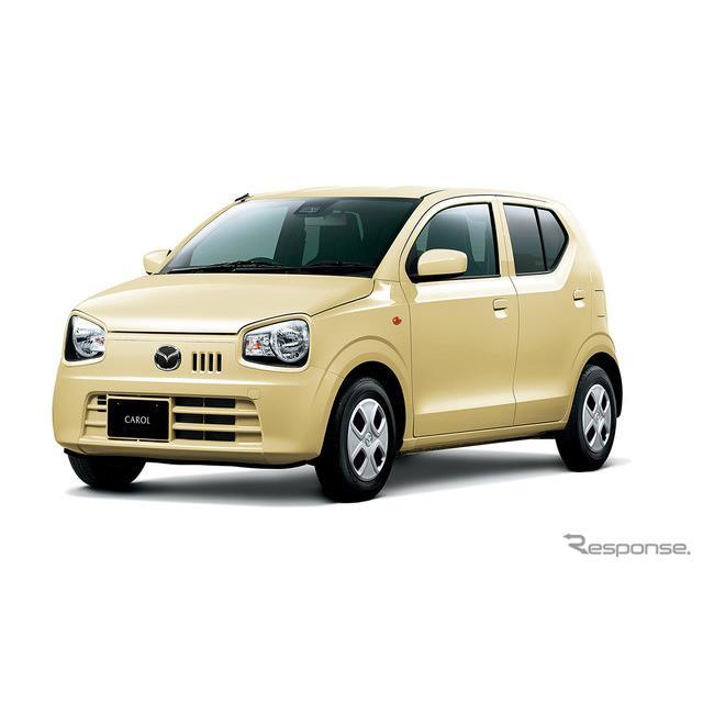 マツダ(以下、マツダ)は、低燃費とシンプルかつスタイリッシュなデザインを特長とする軽自動車『キャロル...