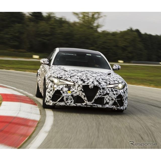 アルファロメオは10月20日、新型『ジュリアGTA』(Alfa Romeo Giulia GTA)のプロトタイプを、F1ドライバー...