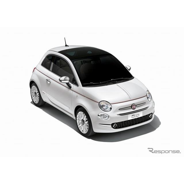 FCAジャパンは、フィアット『500/500C』(Fiat 500)に、個性的なデザインや上質な装備を採用した限定車「D...