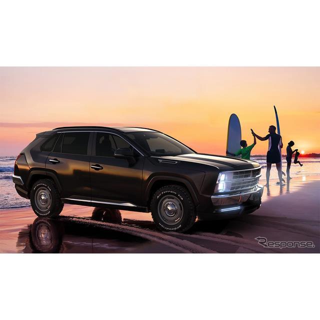 光岡自動車は10月29日、同社初のSUVとなる新型車『Buddy(バディ)』のデザインをティザーサイトにて初公開...