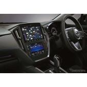 新型レヴォーグに装着できるディーラーオプションナビ。画面サイズは9V型
