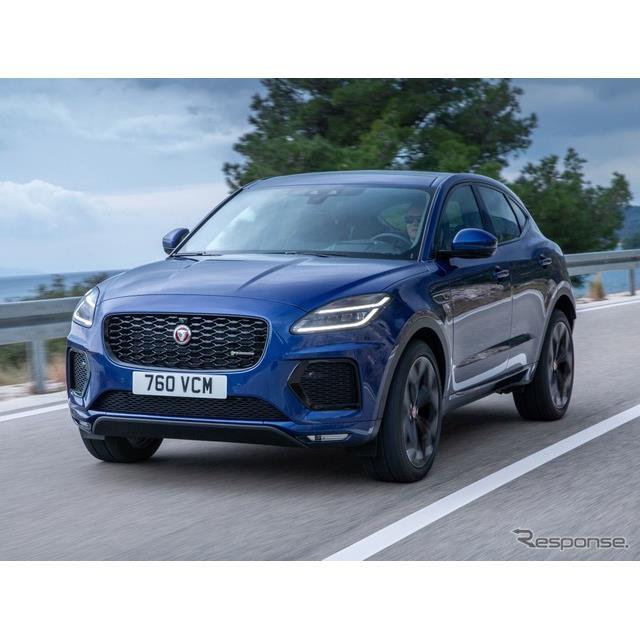 ジャガーカーズは10月28日、小型SUVのジャガー『E-PACE』(Jaguar E-PACE)の改良新型を欧州で発表した。 ...