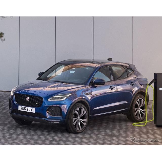 ジャガーカーズは10月28日、改良新型『E-PACE』(Jaguar E-PACE)に初のプラグインハイブリッド車(PHV)を...