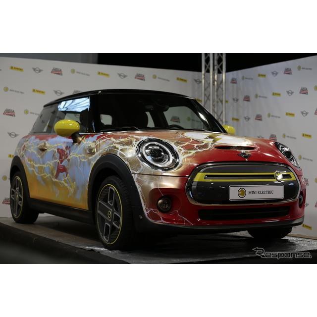 MINIは11月2日、MINI ハッチバックのEV、MINI『クーパーSE』(MINI Cooper SE)のアートカーを10月29日〜11...