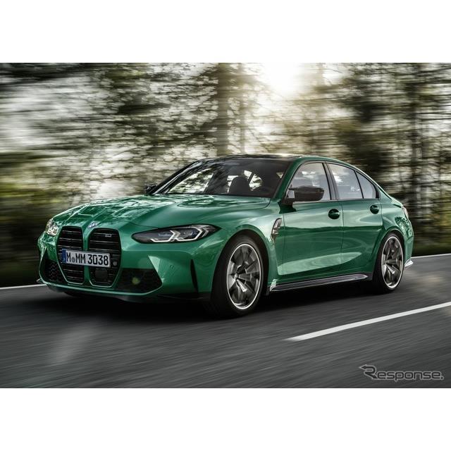 BMWは11月3日、新型『M3セダン』(BMW M3 Sedan)の生産を、ドイツ・ミュンヘン工場で開始した、と発表した...