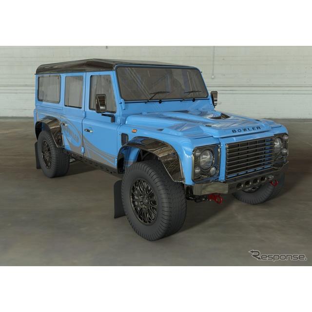 ランドローバー(Land Rover)は11月4日、初代『ディフェンダー』の意匠権を使用した高性能モデルを生産す...