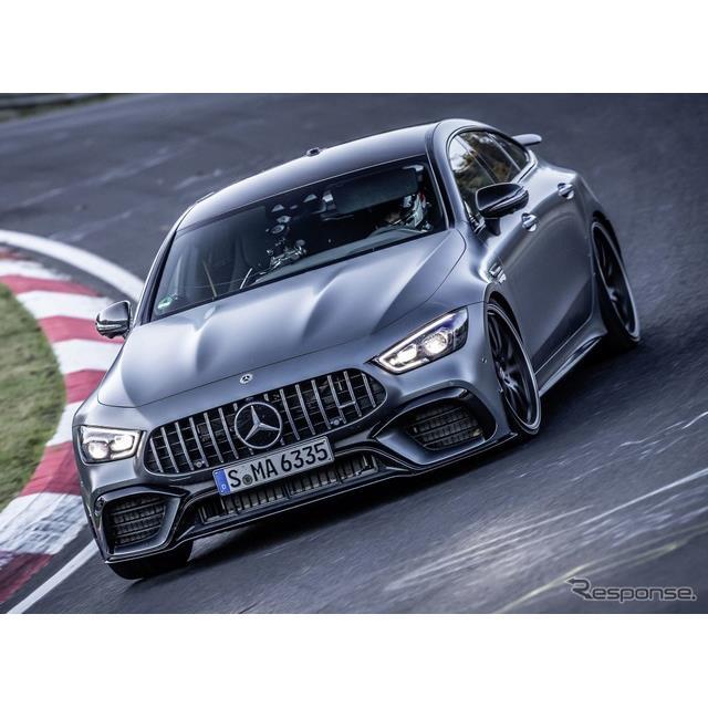 メルセデスベンツの高性能車部門のメルセデスAMGは11月11日、メルセデスAMG『GT 63 S 4MATIC+ 4ドアクーペ...