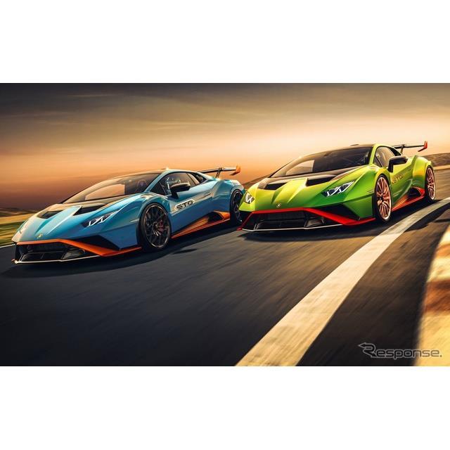 ランボルギーニは11月18日、『ウラカンSTO』(Lamborghini Huracan STO)をデジタルワールドプレミアした。...