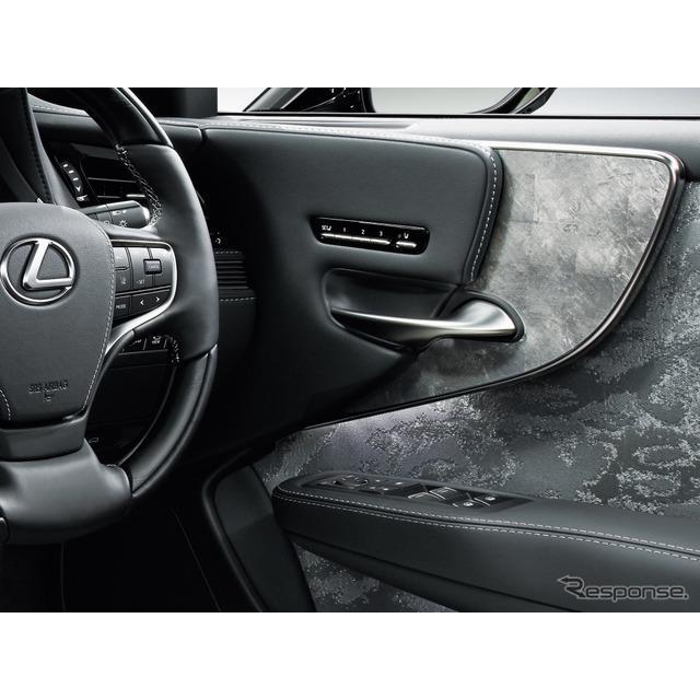 箔一は11月19日、箔装飾がトヨタ自動車の改良新型レクサス『LS』のインテリアに採用されたと発表した。ドア...