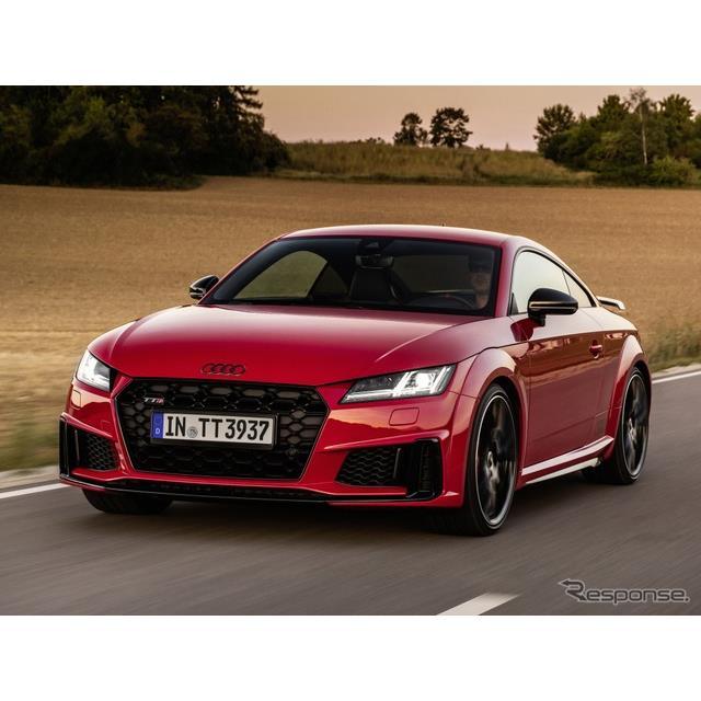 アウディは11月24日、『TT S』(Audi TT S)に「コンペティションプラス」を欧州で設定すると発表した。 ...