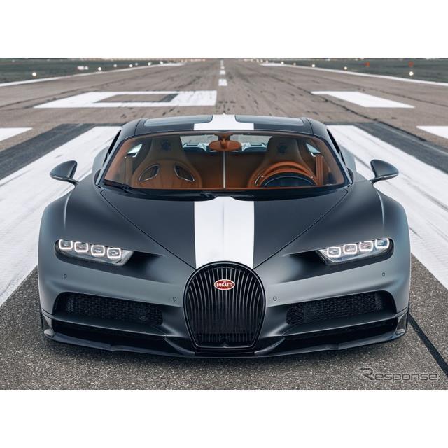 ブガッティは11月24日、『シロン・スポール』(Bugatti Chiron Sport)に「レ・レジェンド・デュ・シエル」...