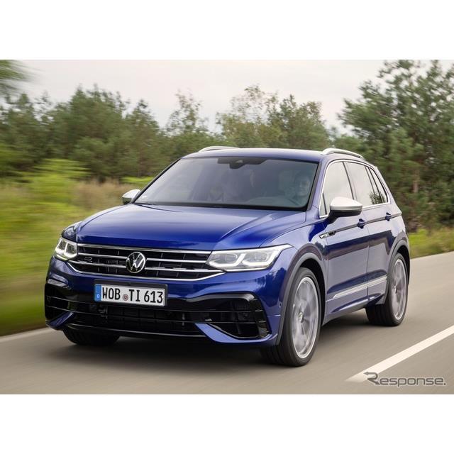フォルクスワーゲンは11月25日、改良新型『ティグアン』(Volkswagen Tiguan)に新設定された高性能グレー...