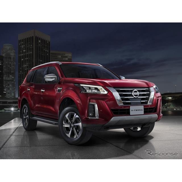 日産自動車の中東部門は11月25日、新型SUVの『Xテラ』(Nissan X-Terra)をワールドプレミアした。  日産...