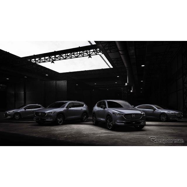 マツダは、『マツダ2』『マツダ6』『CX-5』『CX-8』に特別仕様車「ブラックトーンエディション」を追加し、...
