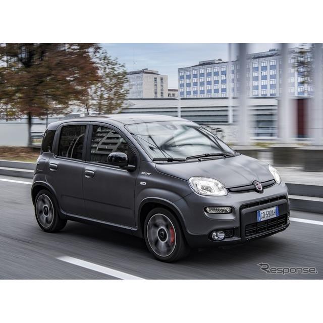 フィアットは12月1日、改良新型『パンダ』(Fiat Panda)シリーズに設定される新グレード、『パンダスポー...