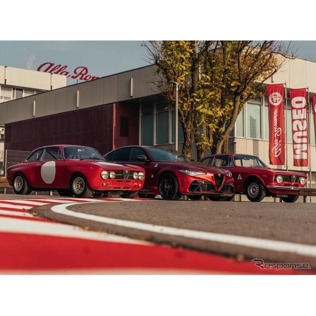 アルファロメオは12月2日、ブランド誕生110周年を記念する限定車、新型『ジュリアGTA』(Alfa Romeo Giulia...