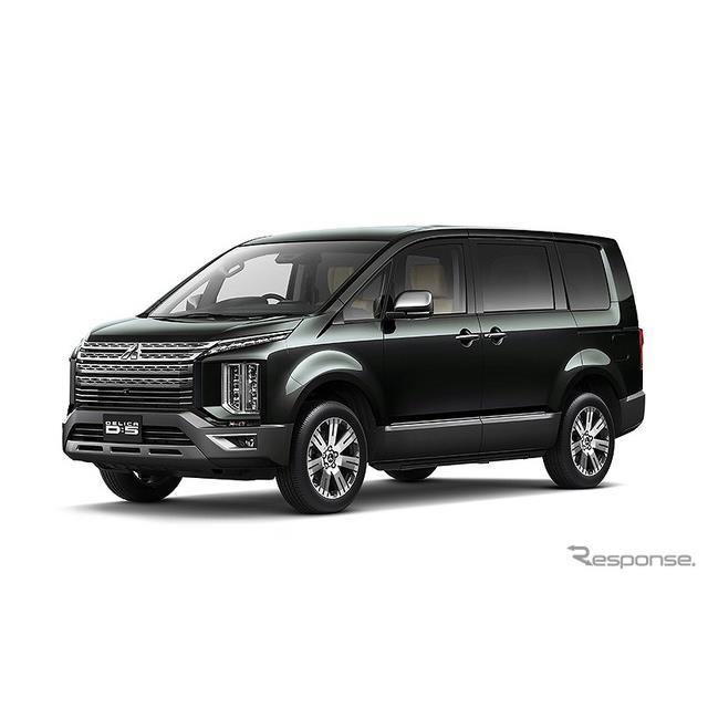 三菱自動車は、オールラウンドミニバン『デリカD:5』に利便性向上などの一部改良を施し、12月10日から販売...