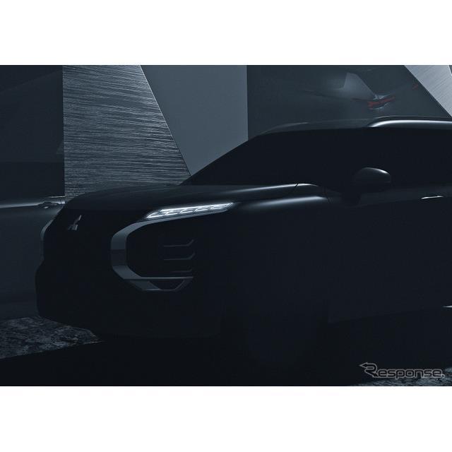 三菱自動車は10日、クロスオーバーSUV『アウトランダー』をフルモデルチェンジし、2021年2月に発表すること...