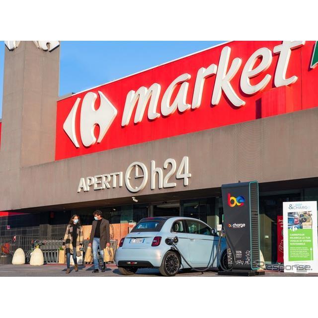FCA(フィアット・クライスラー・オートモビルス)は12月9日、小売り大手の「カルフール」と提携を結び、イ...