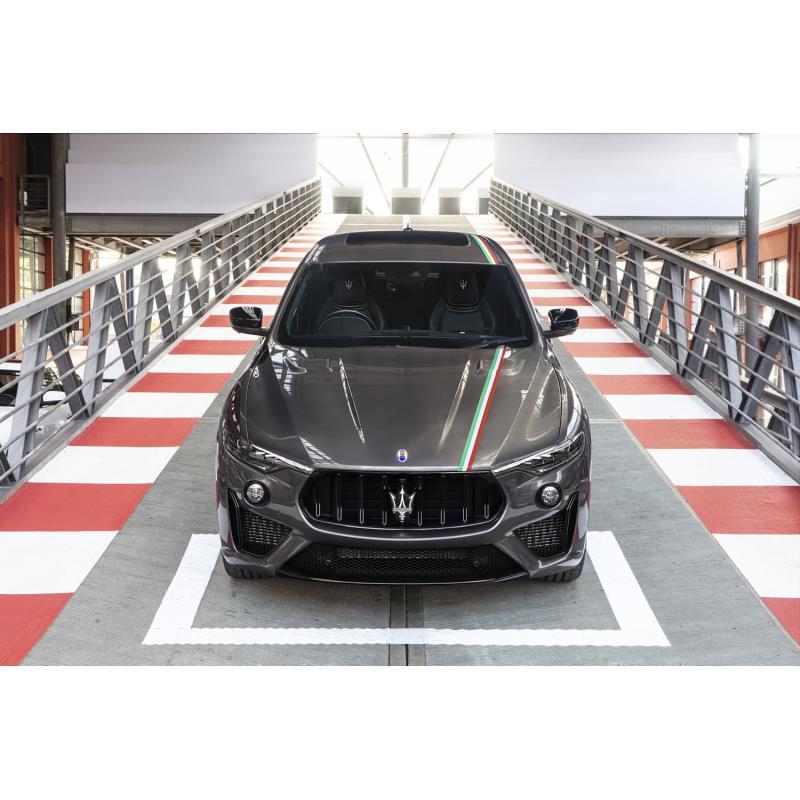 マセラティ ジャパンは2020年12月14日、ハイパフォーマンスSUV「レヴァンテ トロフェオ」に特別仕様車「ト...