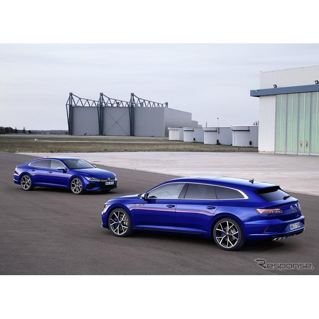 フォルクスワーゲン(Volkswagen)は12月10日、『アルテオン』改良新型と『アルテオン・シューティングブレ...