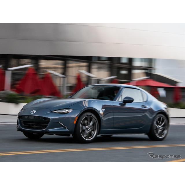 マツダ(Mazda)の米国部門は12月10日、『MX-5ミアータ』(日本名:『ロードスター』に相当)の2021年モデ...