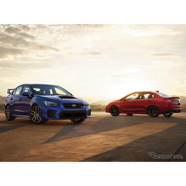SUBARU(スバル)の米国部門のスバルオブアメリカは12月10日、2021年モデルの『WRX』と『WRX STI』を2021年...