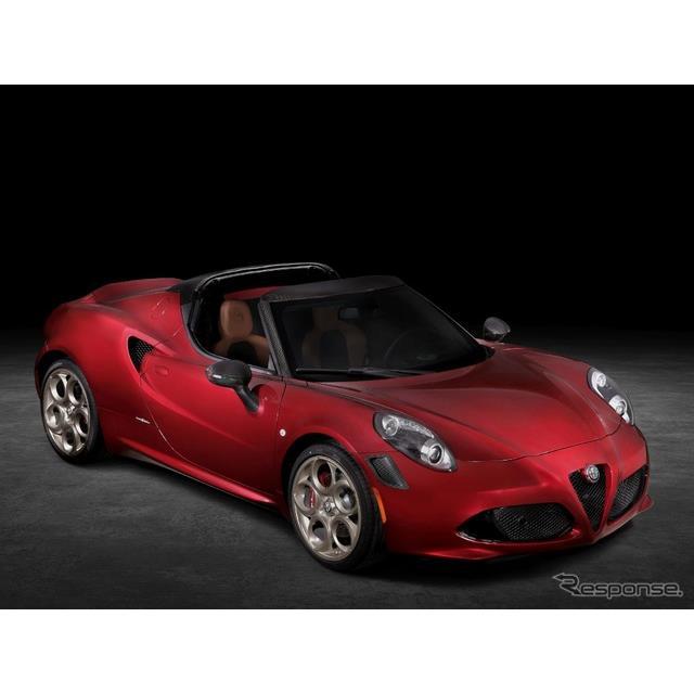 アルファロメオは12月14日、『4Cスパイダー33ストラダーレ・トリビュート』(Alfa Romeo 4C Spider 33 Stra...