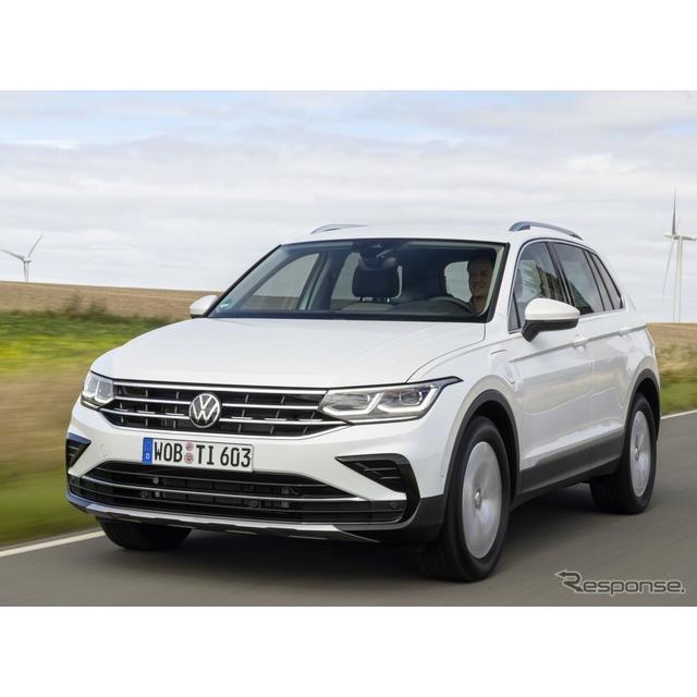 フォルクスワーゲンは12月15日、改良新型『ティグアン』(Volkswagen Tiguan)のプラグインハイブリッド車...