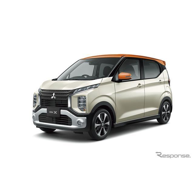 三菱自動車は、軽ハイトワゴン『eKクロス』と軽ス—パーハイトワゴン『eKクロス スペース』に安全装備を充...