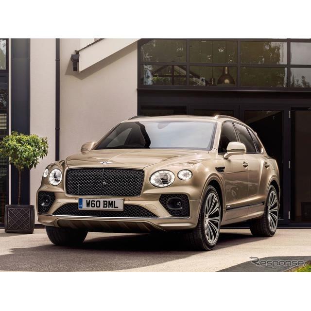 ベントレーは1月4日、プラグインハイブリッド車(PHV)の『ベンテイガ・ハイブリッド』(Bentley Bentayga ...
