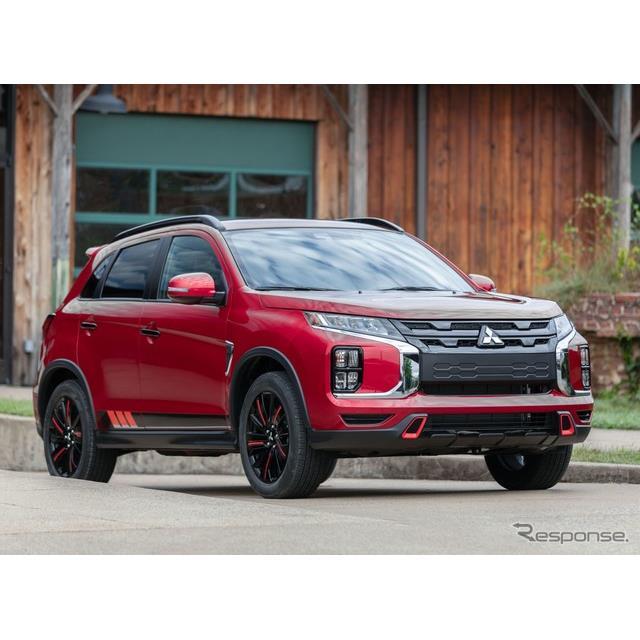 三菱自動車 (Mitsubishi Motors)の米国部門は1月4日、『アウトランダースポーツ』(日本名:『RVR』に相...