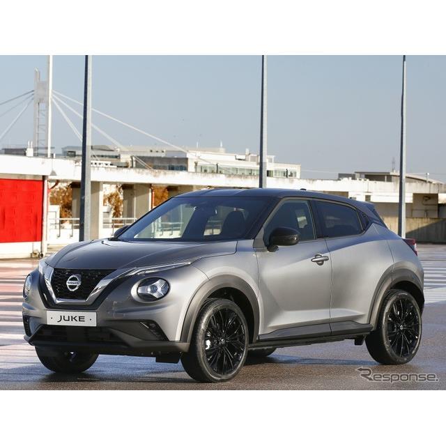 日産自動車の欧州部門は1月5日、『ジューク』(Nissan Juke)に、スタイル性とコネクティビティを追求した...