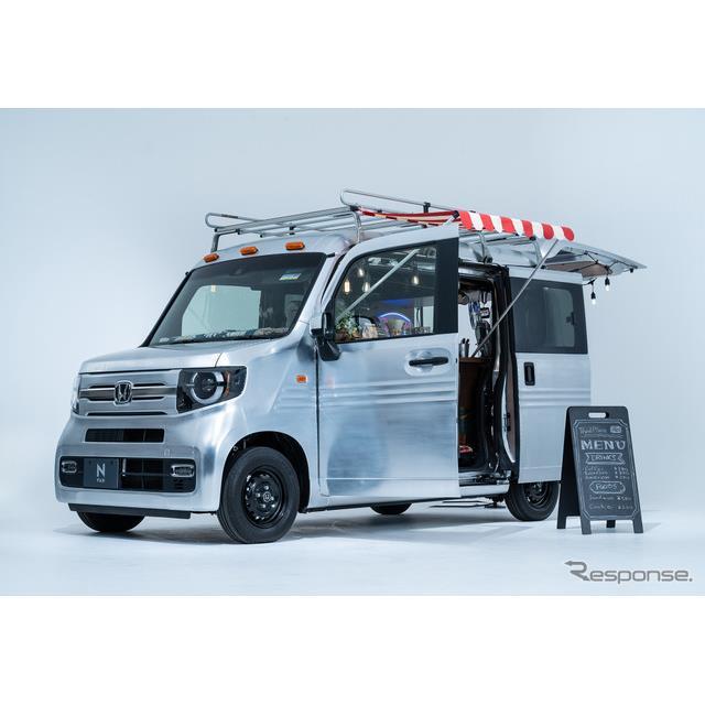 ホンダは1月15日9時00分より、「Honda カスタマイズカー特設サイト」を公開すると発表した。『フィット e:...