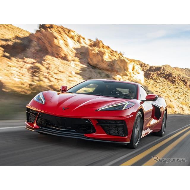 GMのシボレーブランドは1月4日、『コルベット・スティングレイ』(Chevrolet Corvette Stingray)の新たな...