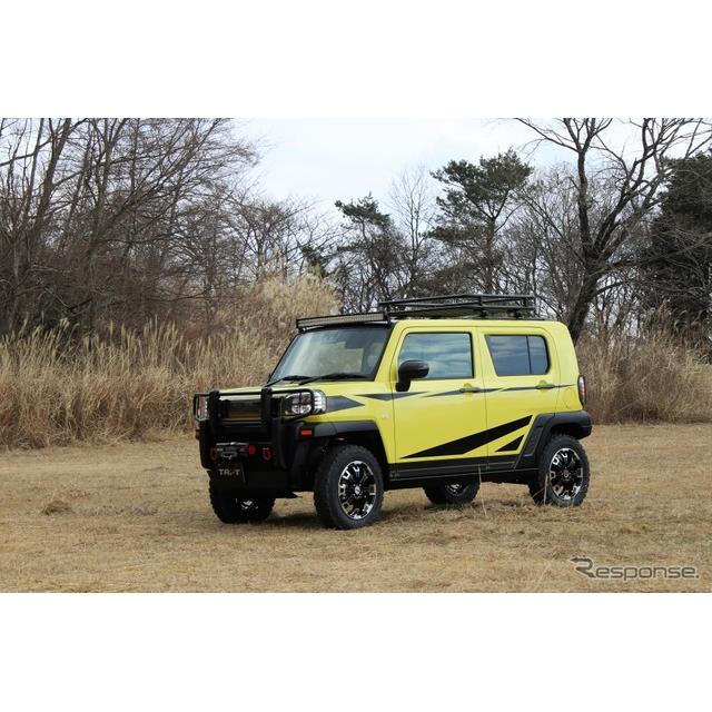 ダイハツは東京オートサロン2021バーチャルオートサロンにコンセプトモデル、『タフト・クロスフィールドVe...