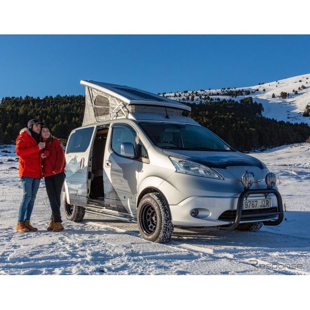 日産自動車(Nissan)の欧州部門は1月20日、商用EVの『e-NV200』をベースにしたコンセプトカー、『e-NV200...