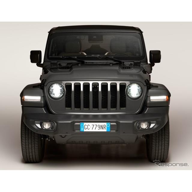 ステランティス傘下のジープブランドは1月22日、『ラングラー』(Jeep Wrangler)初のプラグインハイブリッ...