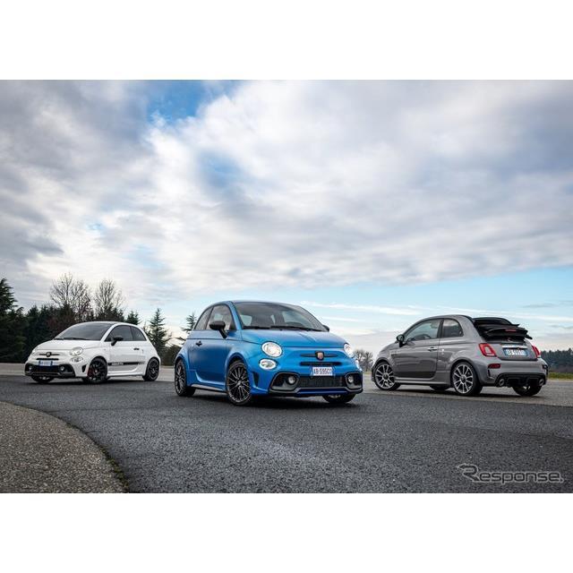 ステランティス傘下のアバルトは1月22日、アバルト『595』(Abarth 595)シリーズの2021年モデルを欧州で発...