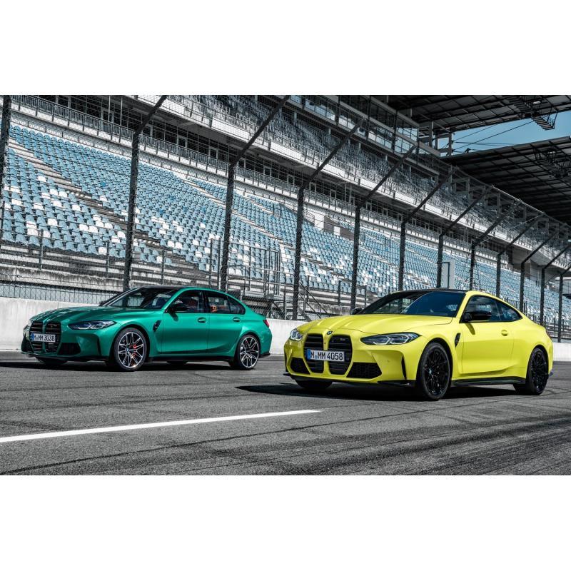 BMWジャパンは2021年1月26日、高性能スポーツモデルの新型「M3セダン」「M4クーペ」を発表。同日、販売を開...