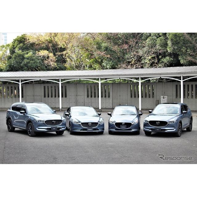 """マツダは特別仕様車の""""ブラックトーンエディション""""を『マツダ2』、『マツダ6』、『CX-5』、『CX-8』に設..."""