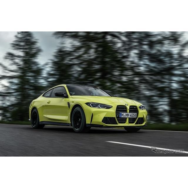 BMWジャパンは26日、Mモデルの新型となるBMW『M3』と同『M4』を発表した。特徴はMハイ・パフォーマンス・モ...