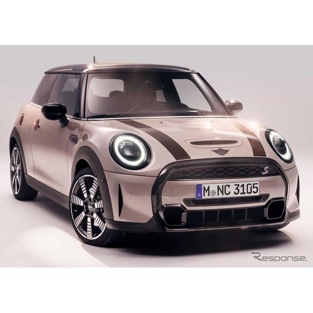 MINIは1月27日、MINI『ハッチバック』(3ドアと5ドア)、MINI『コンバーチブル』の改良新型を欧州で発表し...