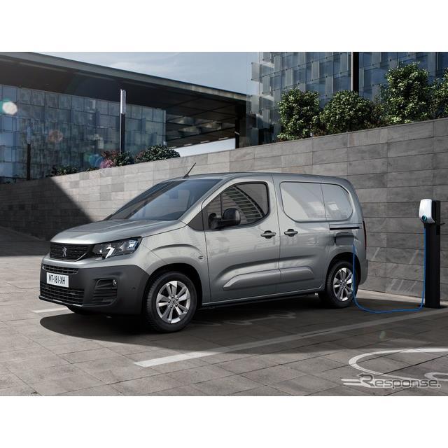 プジョー(Peugeot)は1月26日、『リフター』ベースの商用車『パートナー』のEV、『eパートナー』を2021年...