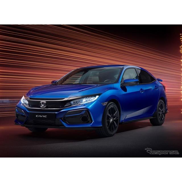 ホンダの欧州部門は1月27日、『シビック』(Honda Civic)の2021年モデルを発表した。4ドアセダンと5ドアハ...